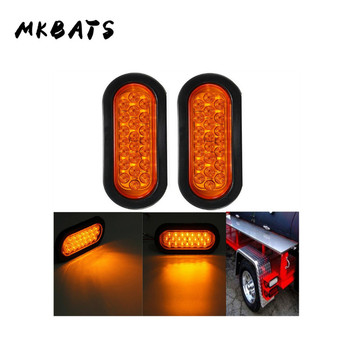 1PCS Amber Side Marker Light 22LED Marker Lights Truck Lighting Stop Signal Trailer LED Lights Stop Brake Side Lights For Trucks цена 2017