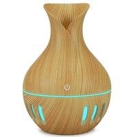 Top Angebote Ätherisches Luftbefeuchter Aroma Öl Diffusor Holzmaserung Ultraschall Holz Luftbefeuchter Usb Kühle Mini Nebel Maker Led leuchten|Luftbefeuchter|   -
