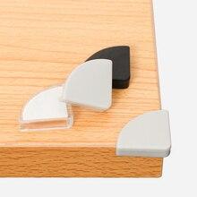 4 шт./упак. мягкий силиконовый безопасное вспомогательное устройство для угловойой протектор настольная защитная накладка на угол стола безопасность детей Защитные насадки на края для детей