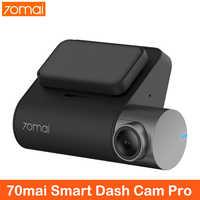 Cámara de salpicadero Xiaomi 70mai Pro 1994P HD coche DVR grabación de vídeo 24H Monitor de aparcamiento 70 mai cámara de salpicadero era visión nocturna GPS cámara de coche
