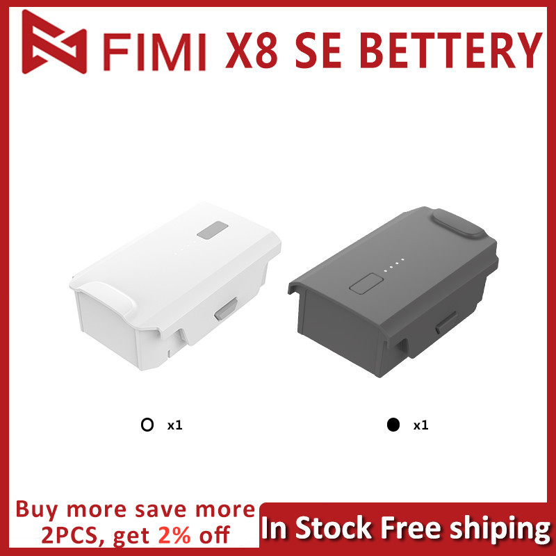 Original FIMI X8 SE 2020 Battery X8 SE Replacement Battery x8 se Intelligent Batteries RC Drone Accessories 35 mins In Stock