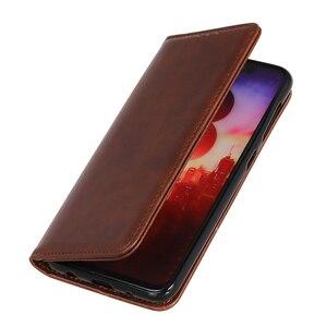 Image 4 - Etui na telefon do Samsung Galaxy Note 20 Ultra skrzynki pokrywa skóra bydlęca PU skóra magnetyczna odwróć okładka książki do Samsung S20 Ultra Plus