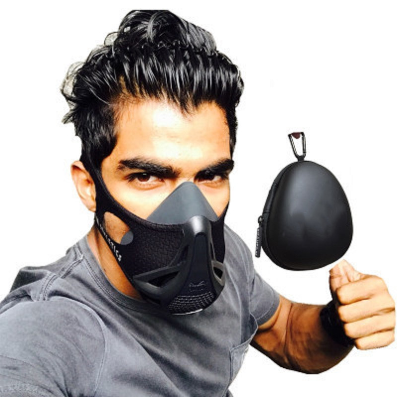 Train Workout Mask High Altitude Elevation Simulation For Gym Cardio Fitness Running Endurance And HIIT Training Fitness Mask