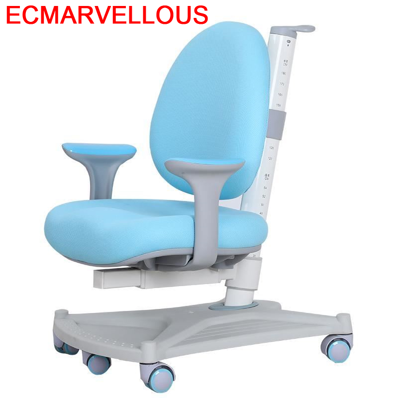 Kids Study Table Infantiles For Silla Estudio Mueble Cadeira Infantil Adjustable Chaise Enfant Baby Furniture Children Chair