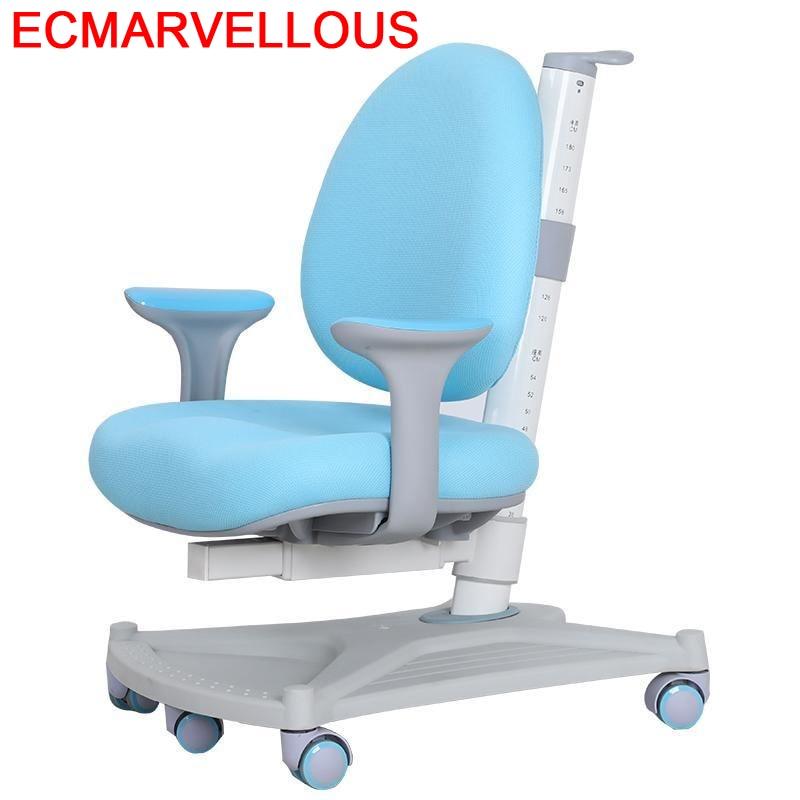 Kids Study Table Infantiles For Silla Estudio Mueble Cadeira Infantil Adjustable Chaise Enfant Baby Furniture Children Chair