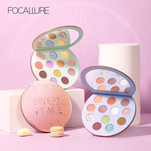 FOCALLURE Newest Eyeshadow Palette Myserious Time 12Colors Shades Of Palette Glitter Makeup Eyeshadow