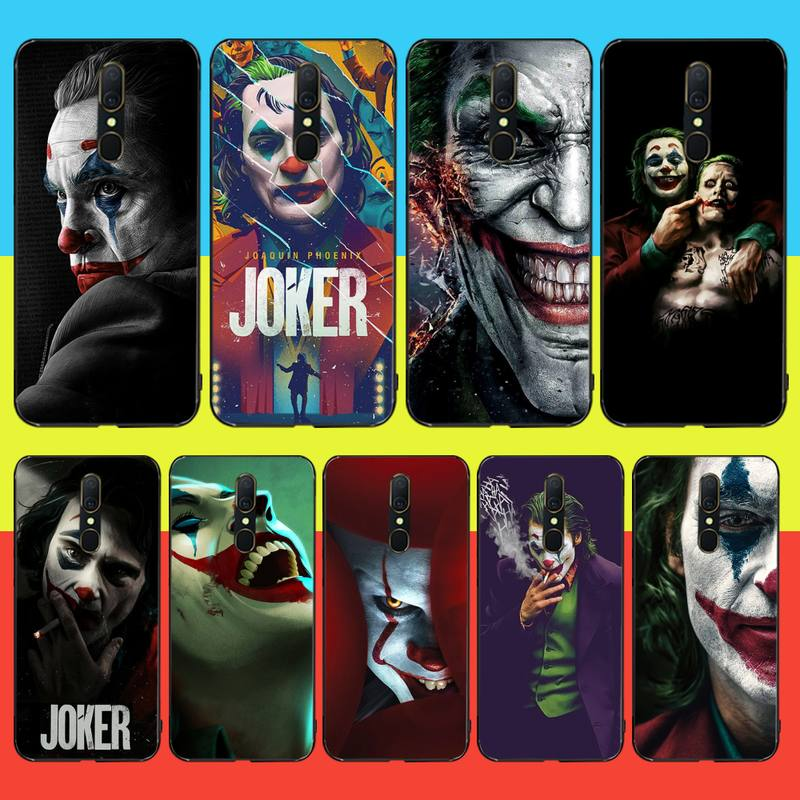 CUTEWANAN Psychological Thriller Movies JOKER Soft Silicone TPU Phone Cover For Oppo A5 A9 2020 Reno Z Realme5Pro R11 case image