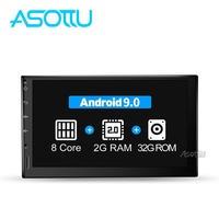 Asottu 2G android 9.0 car dvd for nissan qashqai x trail almera note juke universal multimedia car gps navigation