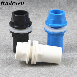 20-50mm PVC Pipe Connectors Thicken Fish Tank Pipe Drainage Connector Garden Drain UPVC Pipe Adapter Water Supply Pipe Fittings