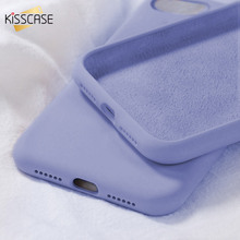 KISSCASE Soft Silicone Phone Case For iPhone