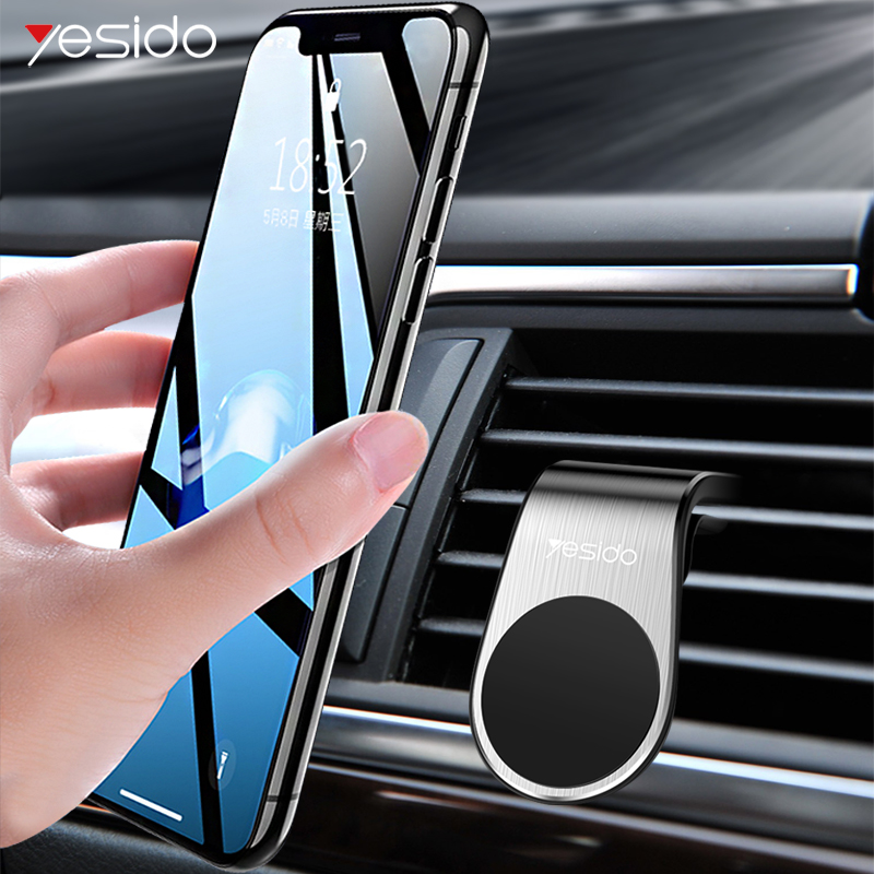 Yesido C64 Magnetic Car Phone Holder Stand Strong Magnet Air Vent Mount Holder For IPhone Samsung Car Smartphone Holder Support