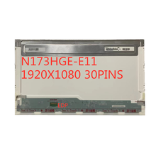 17,3 zoll Laptop bildschirm N173HGE-E11 N173HGE-E21 B173HTN 01,1 1920*1080 FHD Display EDP 30pin Matte LCD Display Ersatz