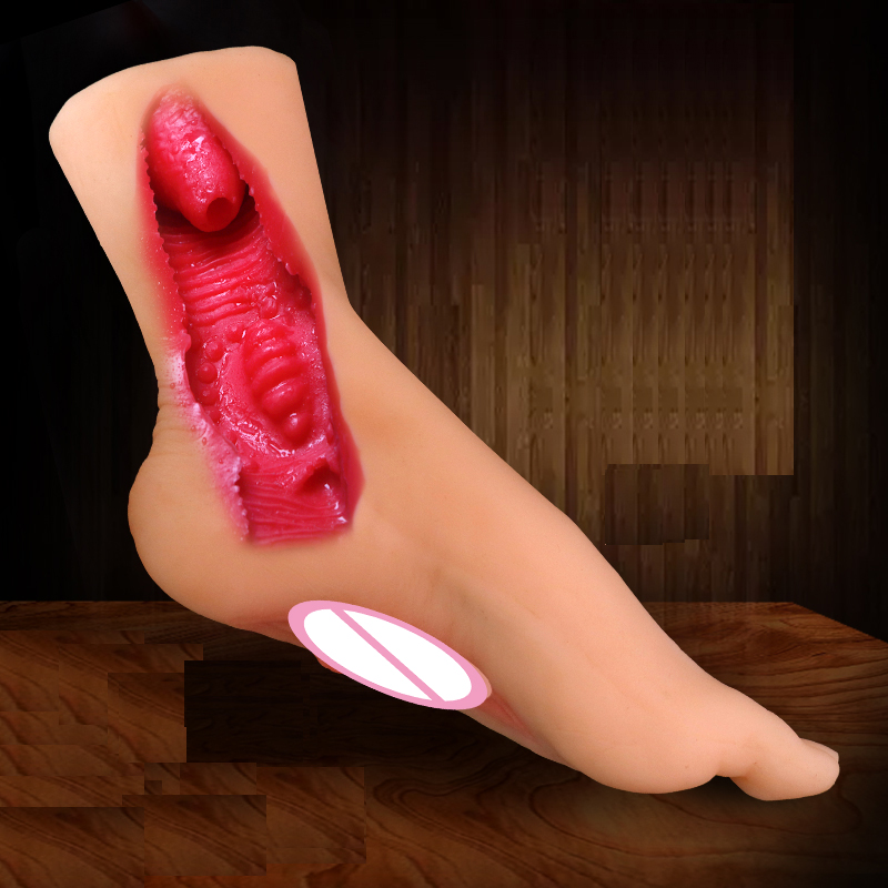 Male Masturbation Soft Gel New Male Model Feet Can Be Inserted Into The Vagina Realistic Silicone Realistic Soft Model Feet