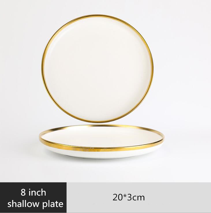 8 inch Shallow plate