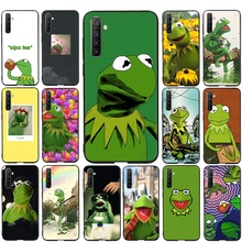 Desxz Kermit the Frog Silicone Phone case for OPPO
