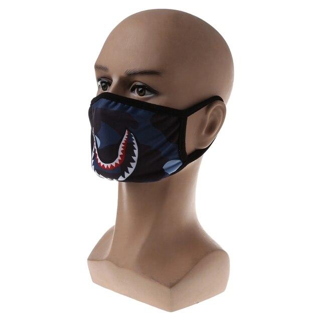Shark Mouth Anti-Fog Flu Face Masks Unisex  Mouth-muffle Mask 1