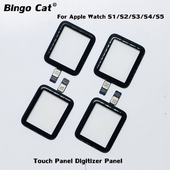 38mm 40mm 44mm 42mm Original Touch Screen Digitizer For Apple Watch Series 4 5 6 S4 S5 S6 LCD Front Glass Sensor Panel Replace image