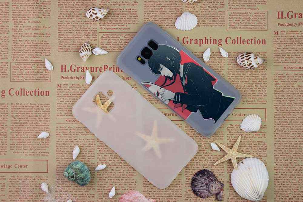 BASEUS Bening Case untuk Samsung S6 S7 Edge S8 S9 S10 S11 Plus Fundas Coque TPU Silikon Back Cover note 8 9 10 Pro Fox Mas