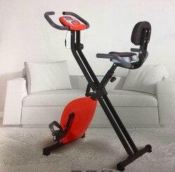 Велотренажер, ультра-бесшумное оборудование для фитнеса, домашний спиннинг, стационарный велотренажер, нагрузка для внутреннего велоспорт...