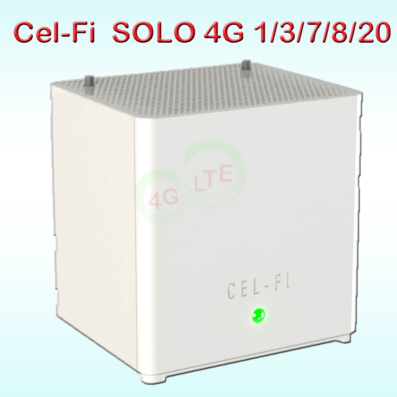 Cel-Fi SOLO cell phone signal booster 4g lte band 1/3/7/8/20 mobile signal booster 4g mobile signal amplifier 4g Cel Fi 8m Celfi