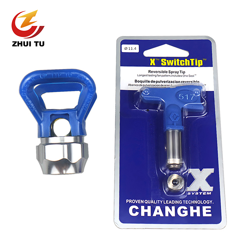 Airless Spray Tip Nozzle 515/517/519/655 Etc Model Nozzle Sprayer Airbrush Tip For Titan/Wagner Airless Paint Spray Gun(China)