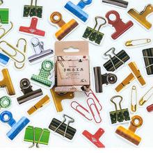 1 pçs mão conta etiqueta clipe adesivo papel ofício floco de papel adesivo scrapbooking papelaria scrapbooking decoração