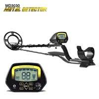 Unterirdischen Metall Detektor MD3030 Schatz Hunter LCD Display Einstellbar Gold Finder Digger Unter Flach Wasser Hohe Empfindlichkeit