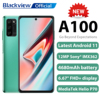 """Blackview A100 Android 11 Smartphone 6GB+128GB Helio P70 6.67"""" 4680mAh Cellphone NFC Cellura 4G LTE Mobile Phone Fast Charge"""