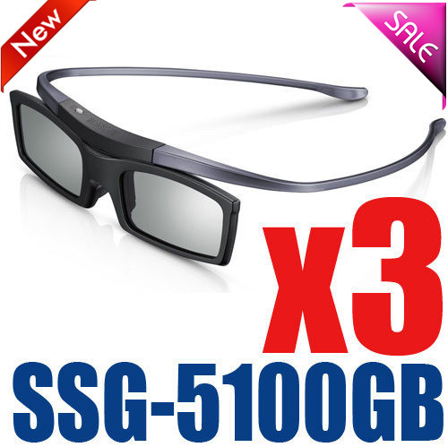 3pcs Original ssg-5100GB <font><b>3D</b></font> Bluetooth Active Eyewear Glasses for all <font><b>Samsung</b></font> / SONY <font><b>TV</b></font> series SSG5100 <font><b>3D</b></font> glasses image