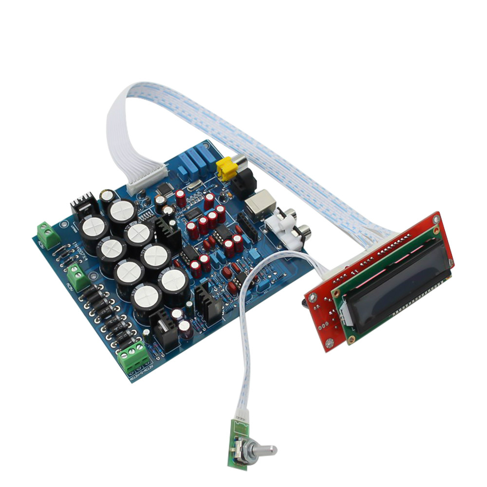 AIYIMA PCM1794 AK4118 <font><b>DAC</b></font> Decoder Audio <font><b>Board</b></font> Soft Control <font><b>DAC</b></font> Decoding Coaxial <font><b>Optical</b></font> Input 192KHZ Home Theater Sound System image