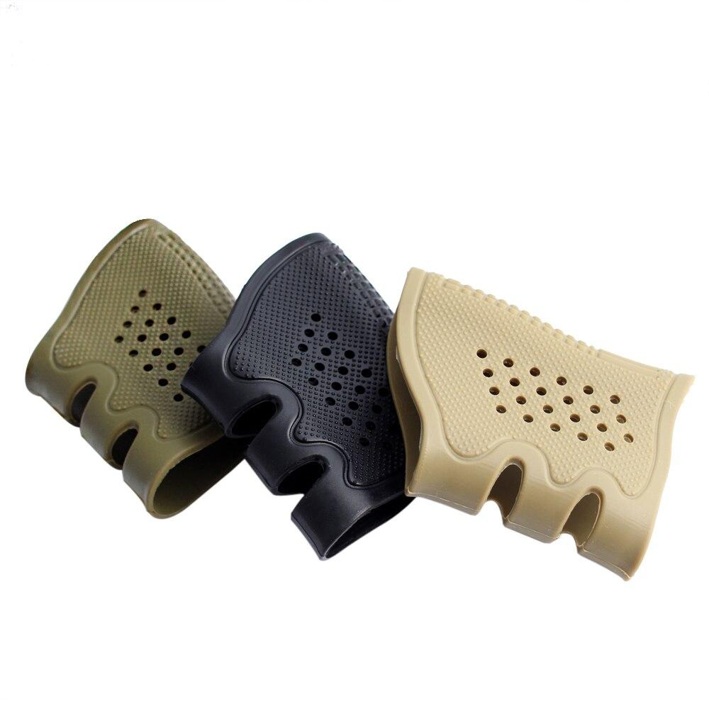 MAGORUI Taktische Pistole Gummi Grip Anti Slip Handschuh Anti Slip für Glock 17 19 20 21 22 23 31 32