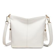 Małe torby typu Crossbody dla kobiet miękka skóra Tassel luksusowe torebki damskie torebki projektant kobiet torba na ramię Sac A Main