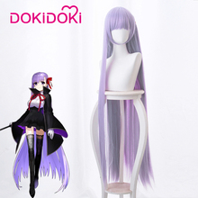 DokiDoki Game Fate Cosplay Wig Kokui no Shōjo Byibyi BB Hair Women Long Straight Fate/EXTRA CCC