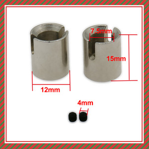 RCAWD 2PCS Center Drive Shaft Cup Adaptor For Rc Hobby Model Car 1/10 Fs Racing Buggy Truggy s-Course Desert Buggy 539005(China)