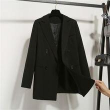 RICORIT Small Chic Suit Women Elegant Minimalist Blazers Cas