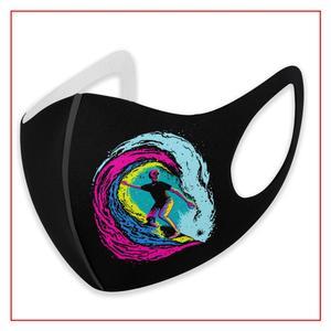 Enjoy Surfing Kids Men Women Face Mask Face Shield Masks  Skin Care Anime Bandana Cute Reusable Breathable Custom Motorcycle