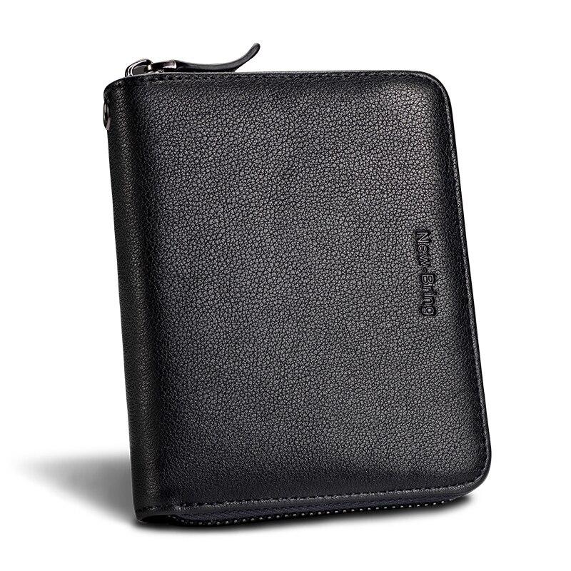 Image 4 - NewBring 30 Card Slots Organ Genuine Leather Card Holder Big Capacity Organizer Purse Nederlands Passport Cover Travel WalletCard & ID Holders   -