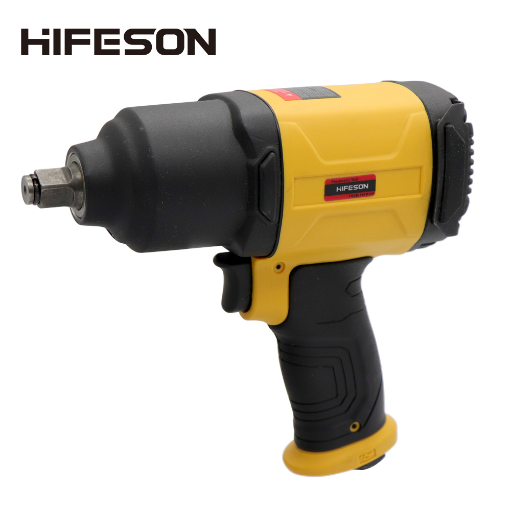 HIFESON Pneumatic Wrench 1350N.m Professional Auto Repair Pneumatic Tools,Spanners Air Tools  Impact Spanner Large Torque