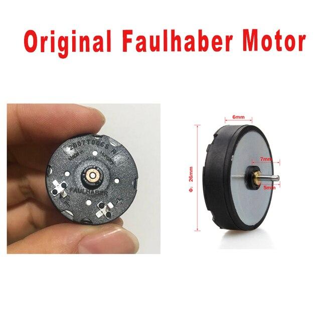 Yedek orijinal Faulhaber Motor Rotary dövme makinesi Motor Liner ve Shader değiştirin dövme motor için dövme döner tabanca