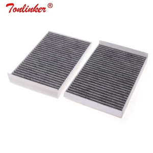 Image 2 - Cabin Filter A2218300038 2 Pcs For Mercedes Benz S CLASS W221 S 250 280 300 320 350 400 450 500 600 S63 S65 AMG 2006 2013 Model