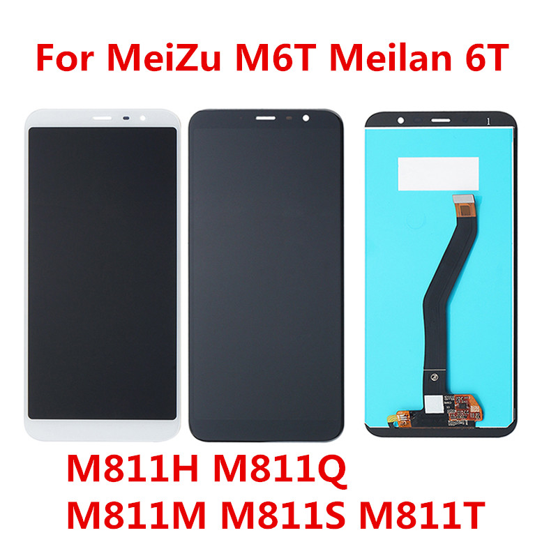 For <font><b>Meizu</b></font> <font><b>M6T</b></font> LCD with touchscreen For <font><b>Meizu</b></font> <font><b>M6T</b></font> 6T <font><b>M811H</b></font> M811Q M811S M811T LCD Display+Touch Screen Digitizer image