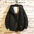 Brand Fashion Cargo With bigger Pocket Jacket Men 2019 Autumn Spring Patchwork Japan Style Clothing Plus ASIAN SIZE M 5XL
