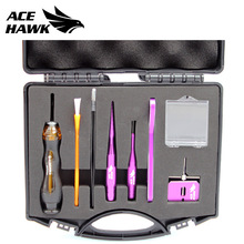 9pcs/Box Repair Tools Kits Casting Fishing Reel Maintain Set Bearing Remover Check Tackle Disassembling Device Pin China Cheap