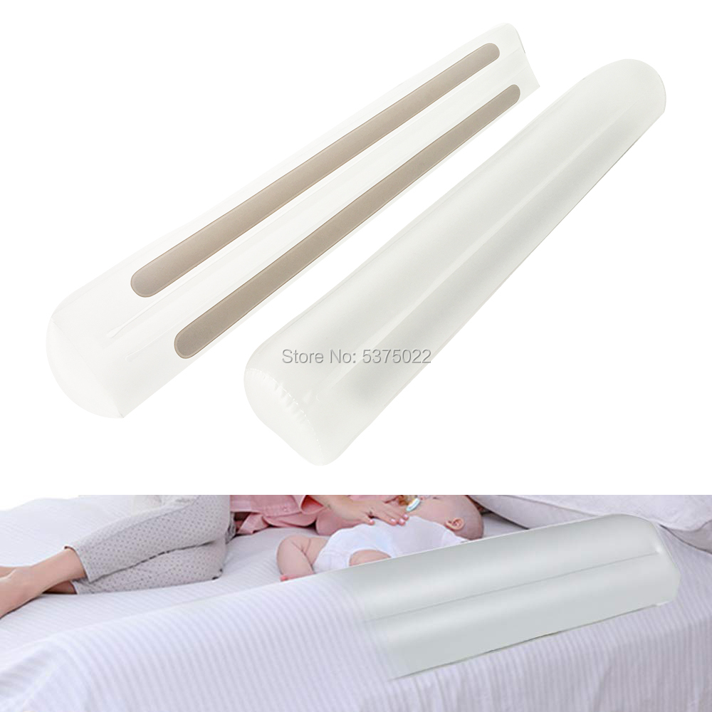 Toddler Bed Rails Bumpers Inflatable Baby Bed Rail Guard Pillow Crib Rail For Home Travel