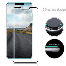 Full Cover 9H Curved 3D Tempered Glass Screen Protector for Huawei mate 30 / mate 30 Pro mobile phone screen full protection(China)