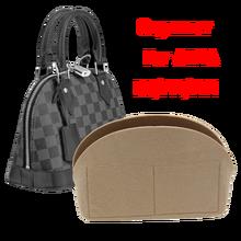 Para alma bb saco inserção organizador de maquiagem pequena bolsa organizar interior bolsa portátil cosméticos bing concha saco organizador natal