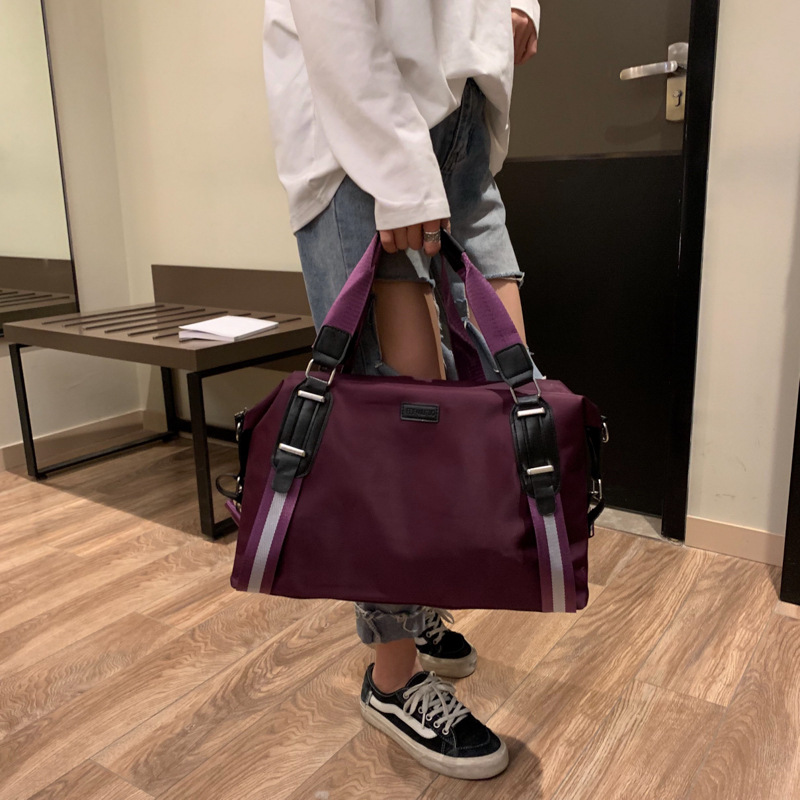 Sacs de reçu de voyage de version coréenne, sacs de voyage à courte distance de grande capacité, sacs de sport, sacs de fitness, une épaule inclinée