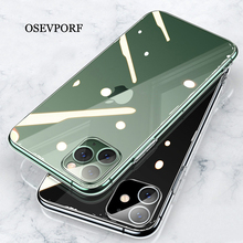 Transparent Soft TPU Case for iPhone 11 Ultra Thin Cover Silicone Capa Cover for iPhone 11 Pro Max Back Protective Capinha Coque w 1 0 3mm ultra thin protective pc back case cover for iphone 6 transparent grey