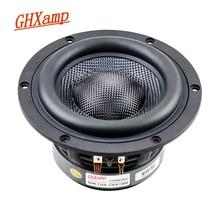 GHXAMP HIFI 5.25 Inch Subwoofer Woefer Speaker 4OHM 3-way Frequency Bass Loudspeaker 60W 120W Glass Fiber Basin 1PC