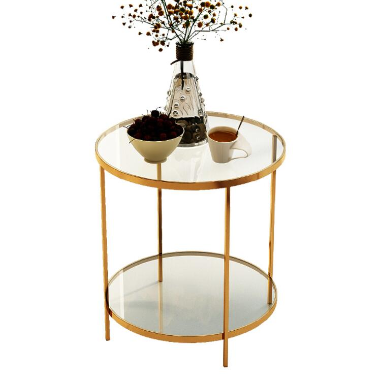 Buy Modern originality is extremely simple small tea table contracted postmodern horn a few sitting room sofa circular edge a few no for only 580 USD